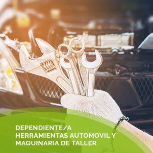 Dependiente/a de Recambios de Motos y sus Accesorios