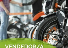 vendedor motos