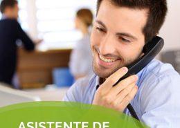 asistente de VENTA telefonica