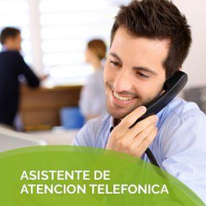 asistente de atencion telefonica