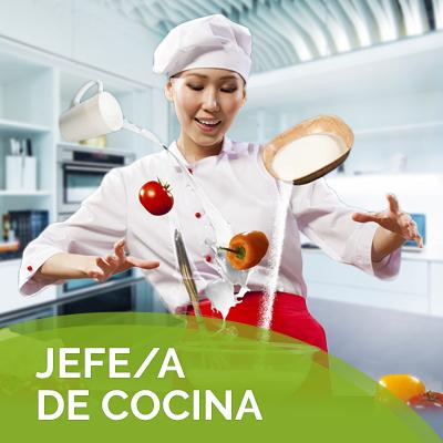 JEFE JEFA DE COCINA
